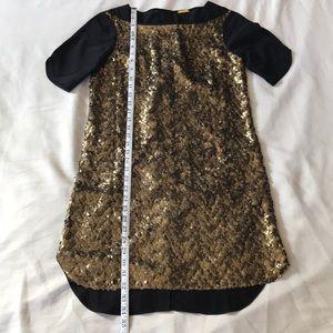Rebecca Minkoff sequin dress.